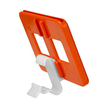 Clamp for Tegometal Shelving, 2 parts
