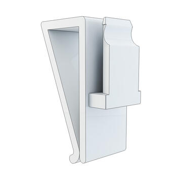Holder for upright Glass Panels