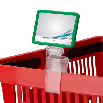 """Crate Clamp for Price Display """"Click"""""""