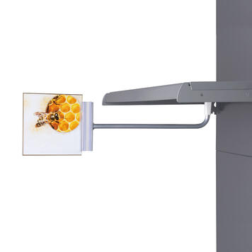Magnetic Banner Holder with Sign Gripper