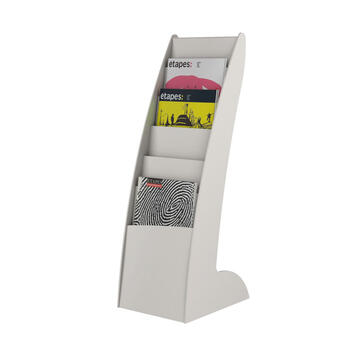 """A4 Brochure Stand """"Slim Curved"""""""