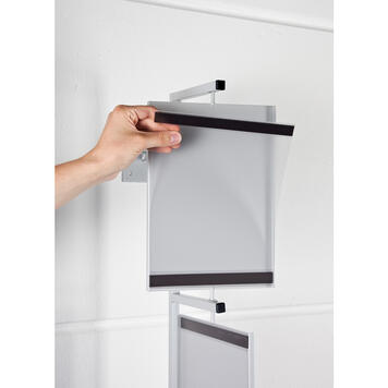 """Wall Mounted Poster Display """"Twist"""""""