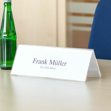 Table Top Name Holder