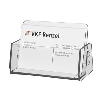 "Business Card Dispenser ""Zebrina"""