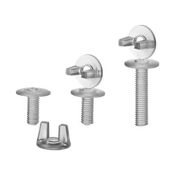 Plastic Screw M6 transparent
