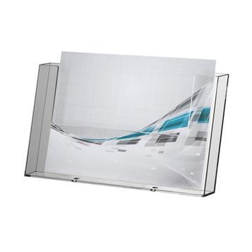 """A4 landscape Single Pocket Leaflet Holder """"Universum"""""""