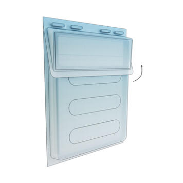 "Water Resistant Leaflet Dispenser ""Maxi"""