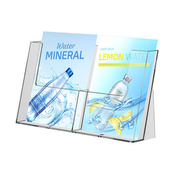 """Multisection Table-Top Leaflet Holder """"Spree"""""""
