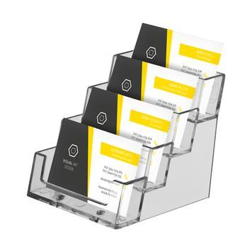 """4-Tier Business Card Holder """"Universum"""""""
