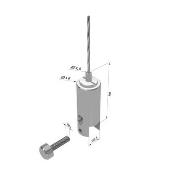 Cable Holder for various Panel Thicknesses