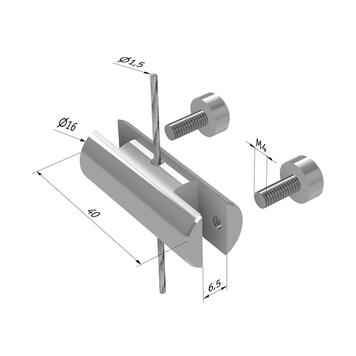 Cable Guide for Double Holder