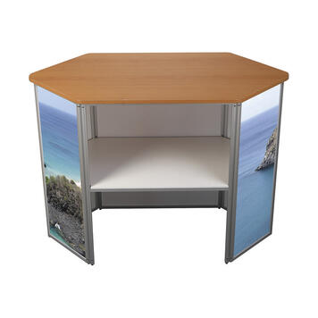 """Digital Print for Front of Hexagonal Counter """"360"""""""