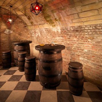 "Bar Stool Wine Barrel ""Mucki"""