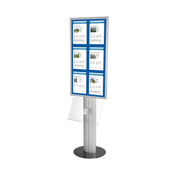 "LED Poster Stand ""Score"""