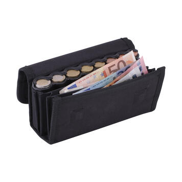 Wallet with Transparent Coin Dispenser