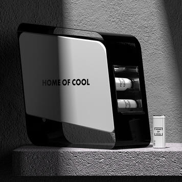"""POS Cooler """"Home of Cool"""""""