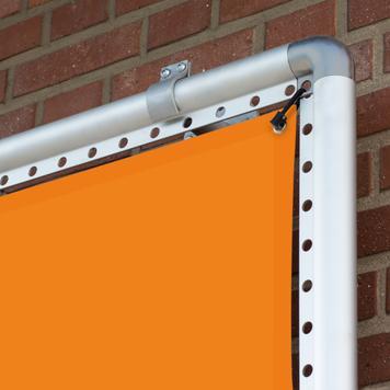 "Banner Frame Slot System Aluminium ""Wall"""