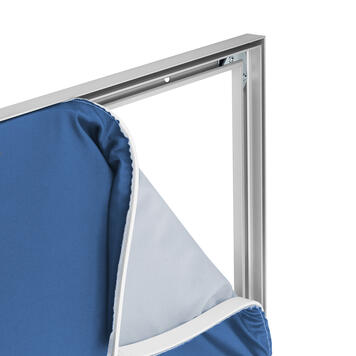 """Aluminium Stretch Frame """"19"""", for wall-mounting"""