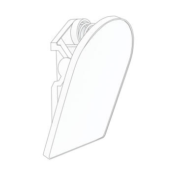 Clamp with Adhesive Pad