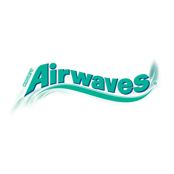 Promotional Folding Card with Wrigley's Airwaves