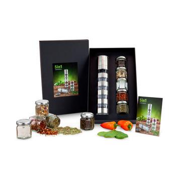 5 in 1 Spice Mill Variation
