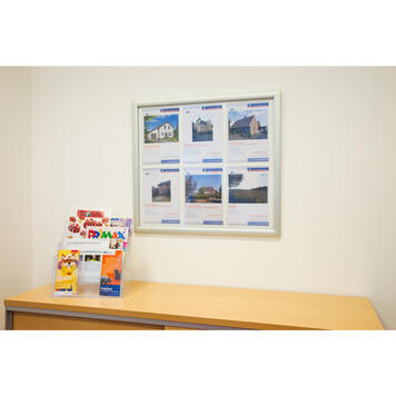 """Waterproof Click Frame """"Broker"""", for 4x A4 / 6x A4 Posters"""