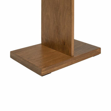 """Poster Stand """"Madera"""" with clamps"""