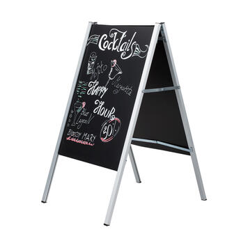 """Foldable A-Board """"Plate"""" for Panels"""