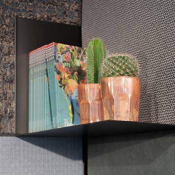 FlexiDeco-Functional / Shelf left, black