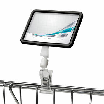"Sign Clip Click Holder for Price Display ""Click"""