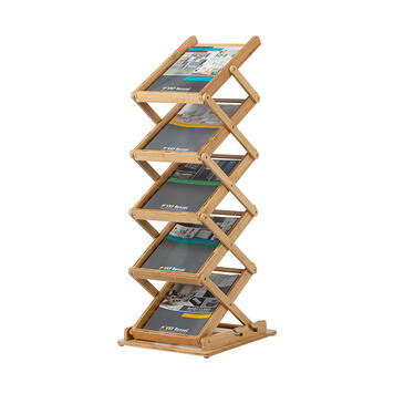 """Foldable Leaflet Stand """"Bambou"""""""