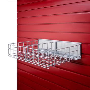 Wire Shelf Divider FlexiSlot®