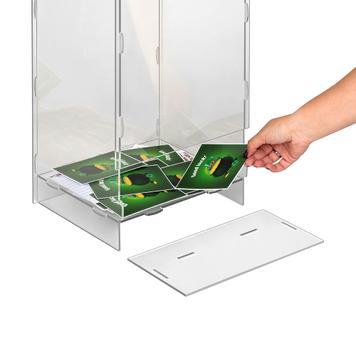 """Floorstanding Leaflet Stand """"Nigella"""", slot together"""