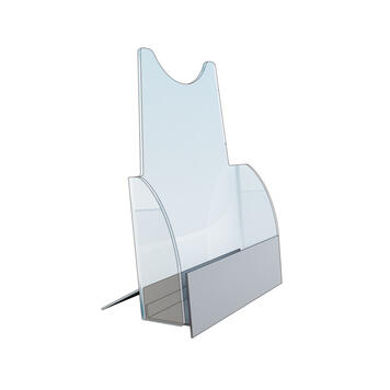 "Table Top Single Pocket Brochure Holder ""Amara"""