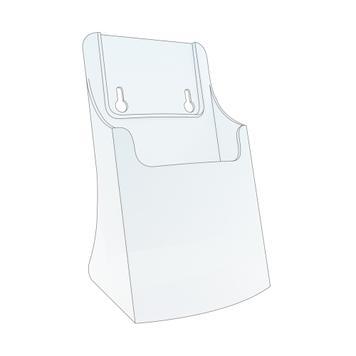 """Single Pocket Leaflet Holder """"Perfect"""""""