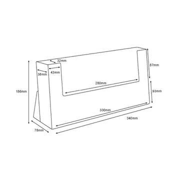 "Single Table-Top Dispenser ""Universum"" in Landscape"