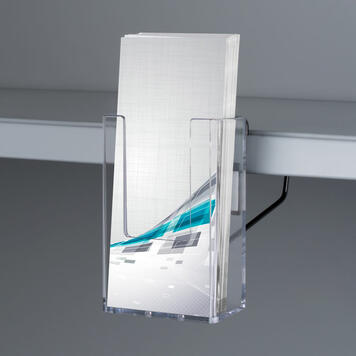 "Shelf Edge Leaflet & Brochure Holder ""Euphrat"""