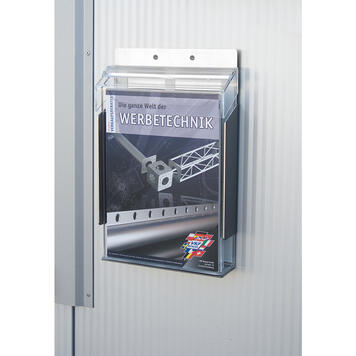 """Wall-Mounted Leaflet Dispenser """"Nil II"""" for Outdoor Use"""