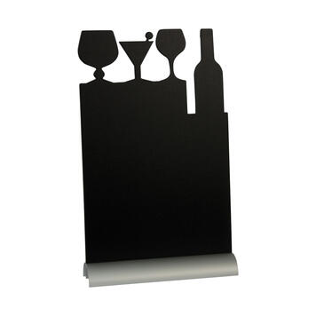 Table-Top Chalk Board with Aluminium Base