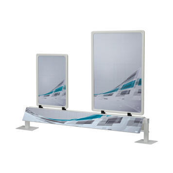 Pricing Rail for Chest Freezers