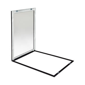 "Plastic Window Frame System ""Eco"", 17 mm profile"