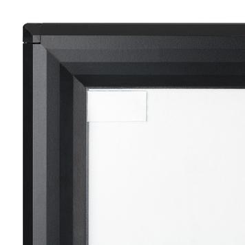 "Waterproof Pavement WindSign ""Seal"", 44 mm profile, silver / grey"