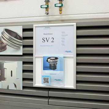 Snap Frames with Leaflet Holders