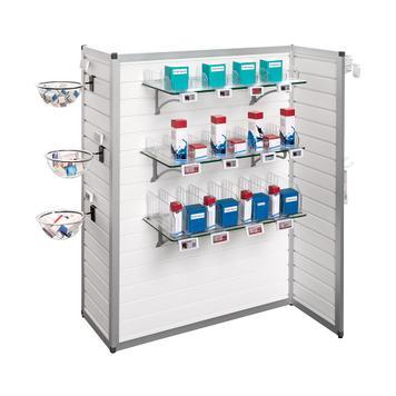 "FlexiSlot® Mid-Room Display ""Construct Z"""