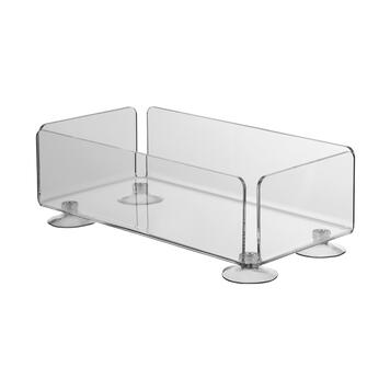 Acrylic Box with Suction Cups