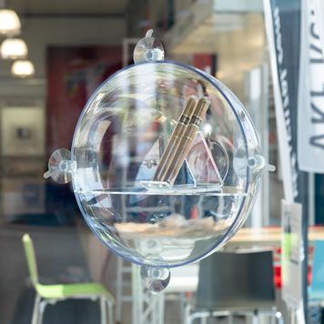 Window Sphere Display