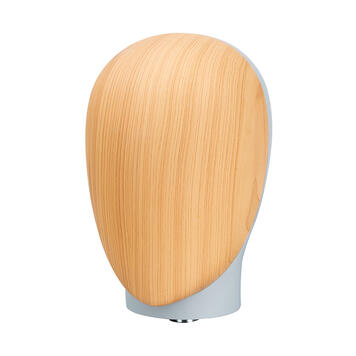 """Front of Head for Mannequin """"Magic"""", wood effect"""