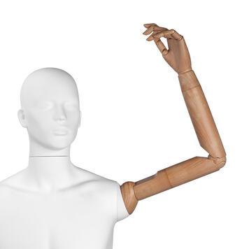 "Flexarm for Display Mannequin ""Magic"""