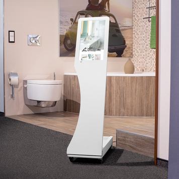 """Digital Info Stand """"Attract Mini"""""""