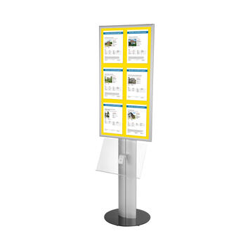 "LED Leaflet Stand ""Score"""